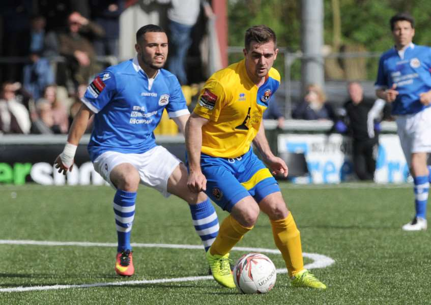 GOAL GETTER: Craig Parker has joined King's Lynn from Sudbury