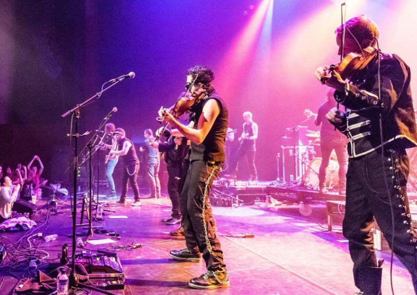 Treacherous Orchestra are playing at The Apex in Bury St Edmunds on April 18 at 8pm ANL-160604-143757001