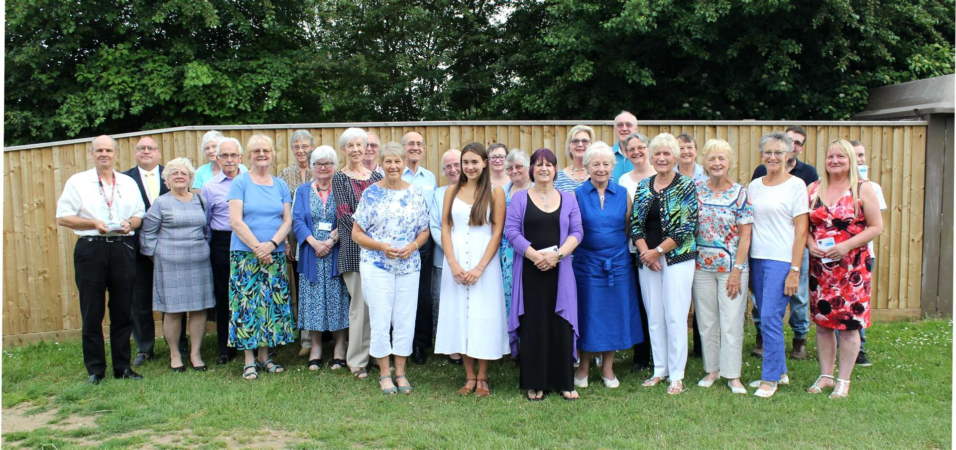 A small number of West Suffolk Hospital's volunteers at a thank you event last year (7251189)