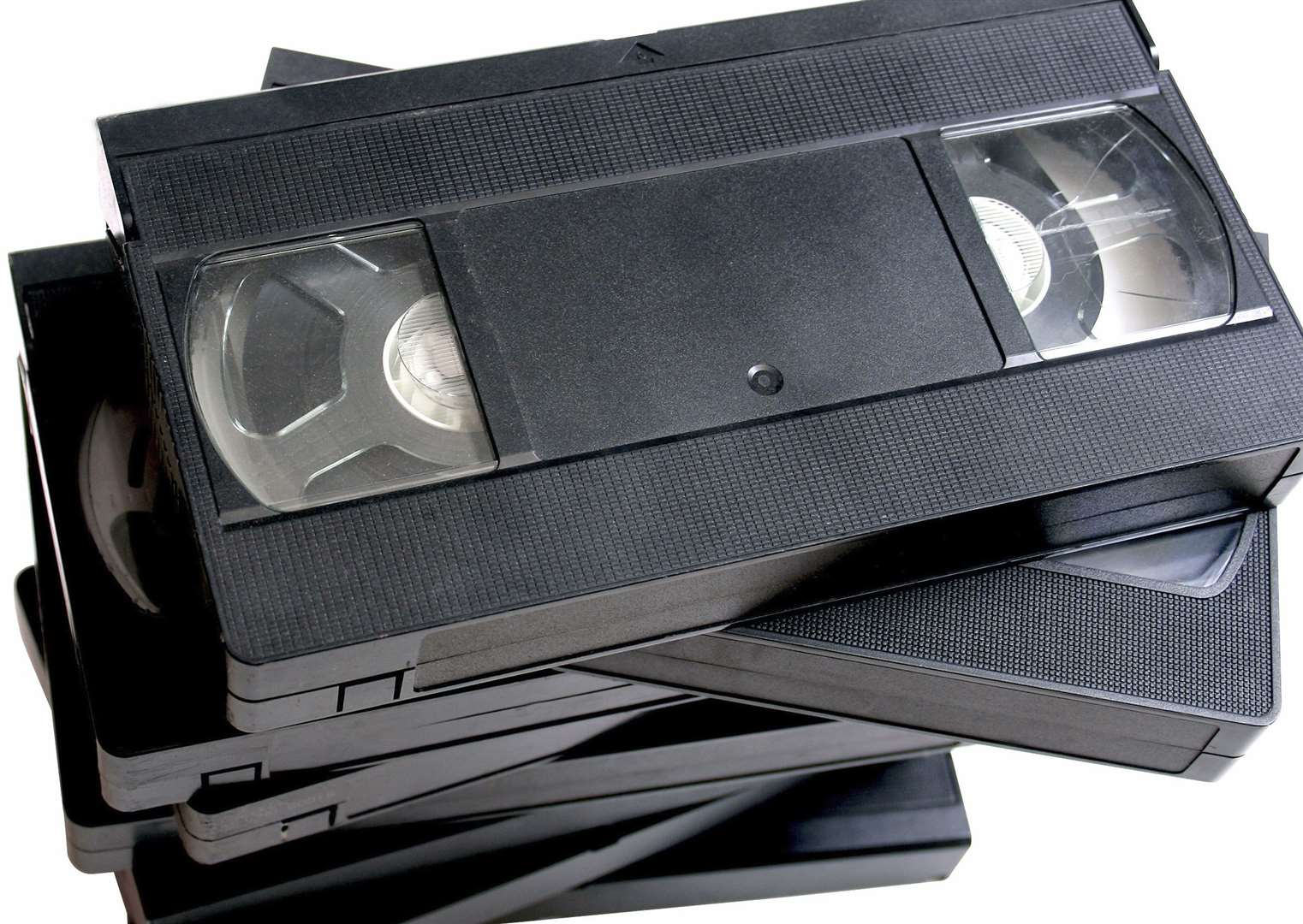 The VHS video tape - a distant relative of the Blu-ray