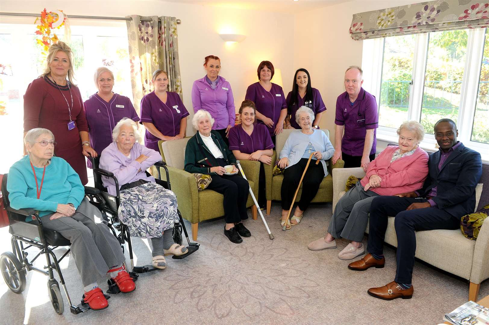 The Canterbury House care home in Hadleigh has improved to a Good rating in its latest inspection report from the Care Quality Commission (CQC).....PICTURE: Mecha Morton... .. (4706234)