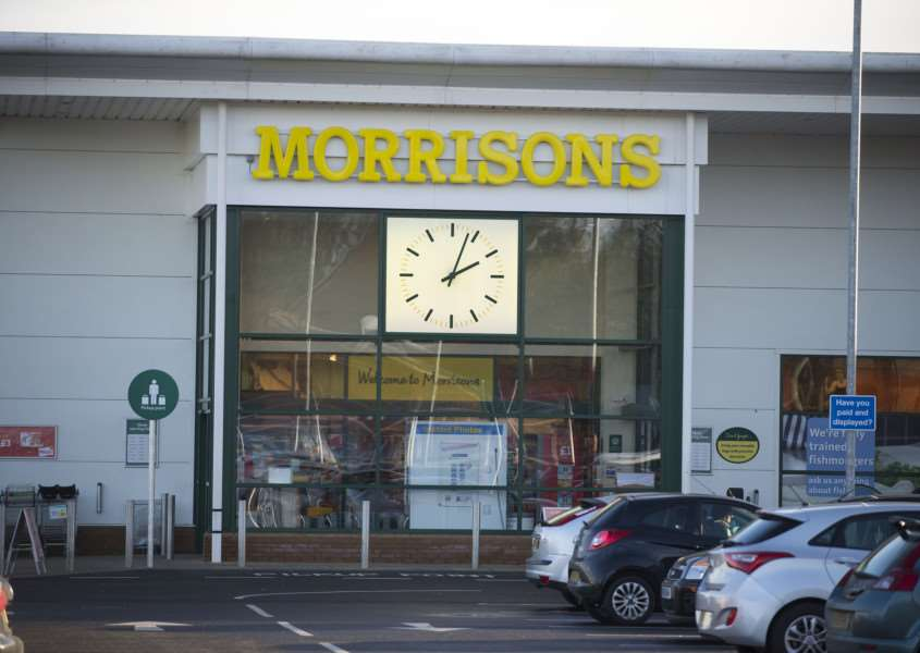 Morrisons Supermarket in Stowmarket.'Picture Mark Westley ANL-160113-232758009