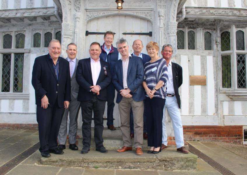 James Cartlidge MP was guest of honour at Lavenham Forum's annual general meeting