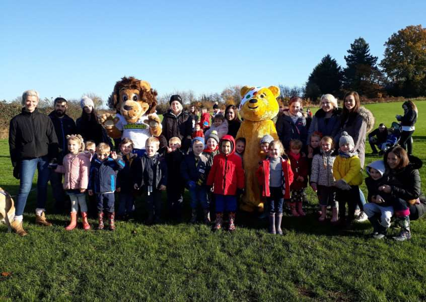 Wells Hall Children in Need
