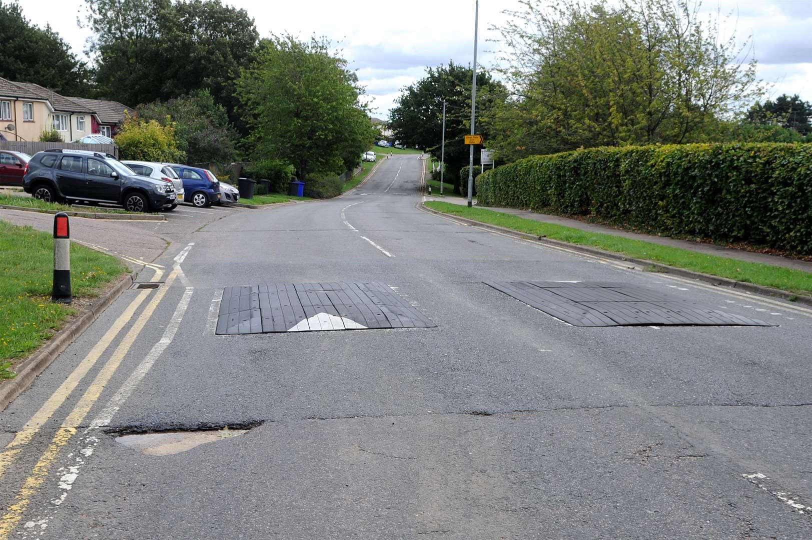 Millfields Way in Haverhill in a bad state...PICTURE: Mecha Morton... .. (3817192)