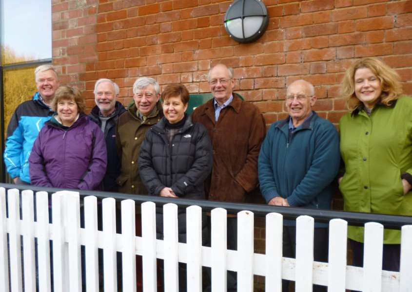 Board of trustees for Clare Castle Country Park; Gary Brown, Charmain Hawkins, Derek Blake, Richard Smith, Sharon Benson, Geoffrey Bray, Keith Mison and Kate Terry