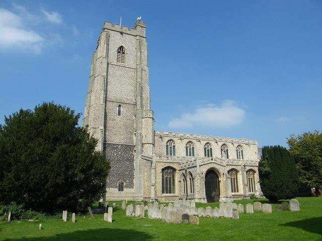 St Mary's church, Mildenhall (4593471)