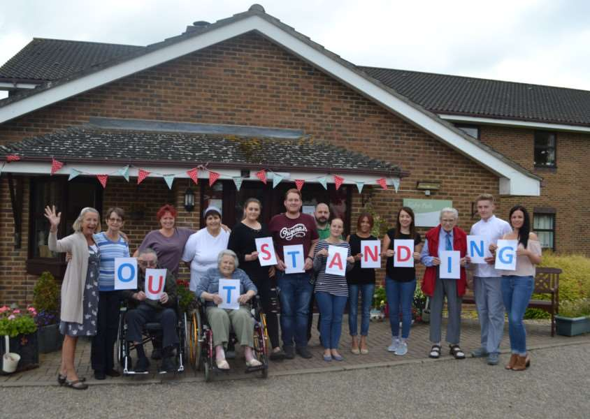 Risby Park Nursing Home on Hall lane in Risby has received an outstanding rating from the Care Quality Commission.