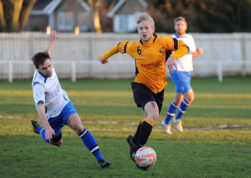 NEW FACE: Former Mildenhall midfielder Alex Steed is joining Newmarket