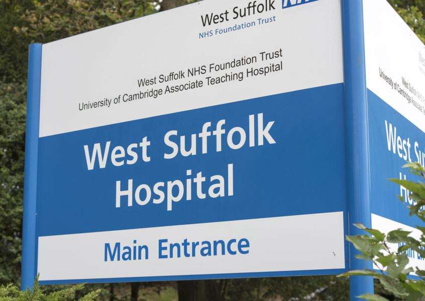 West Suffolk Hospital Bury St Edmunds''Picture Mark Westley