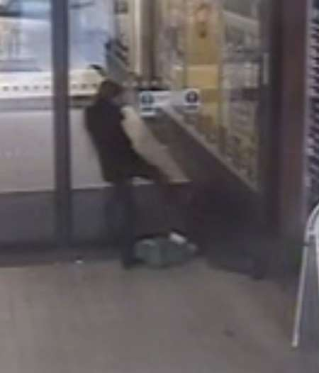 CCTV from the attack