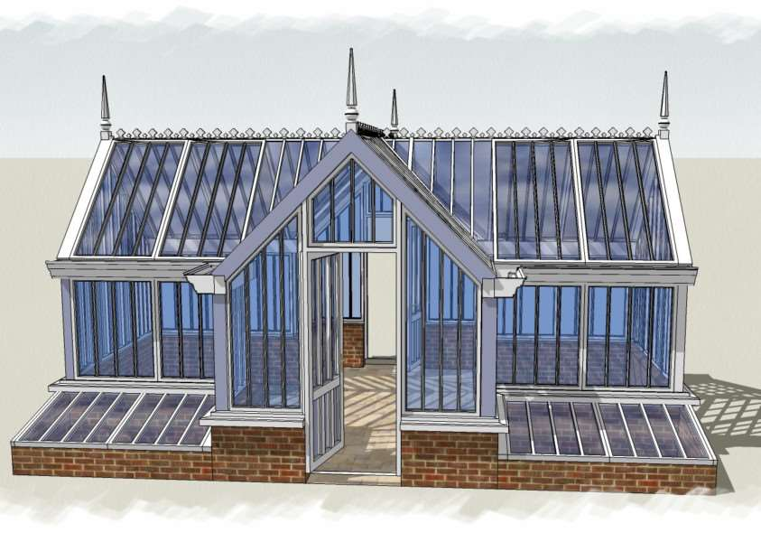 Alitex's new Ickworth greenhouse is a crystal palace for your cucumbers ANL-160523-174937001