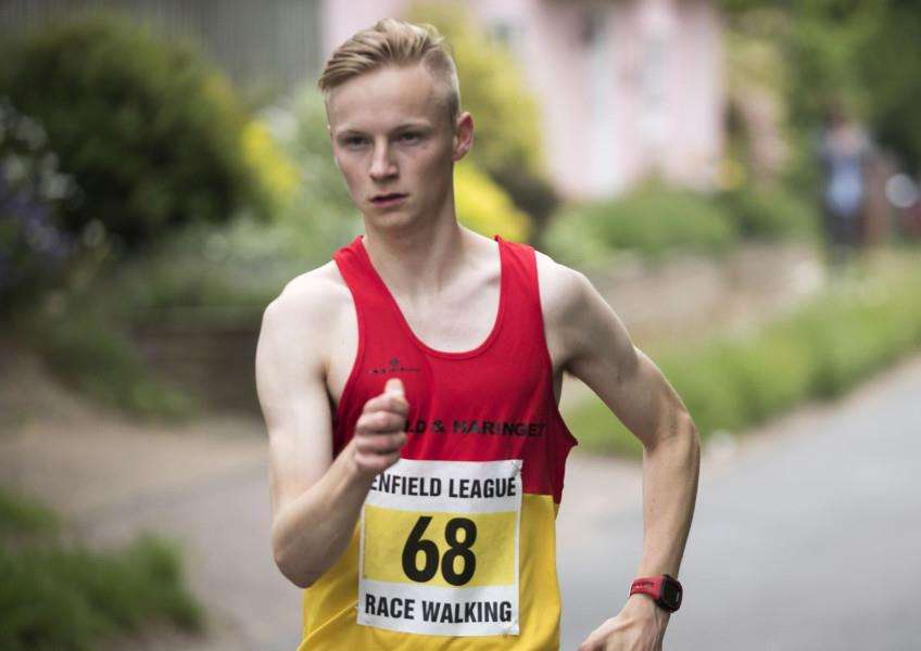 JOB DONE: Callum Wilkinson performed well at the Commonwealth Games
