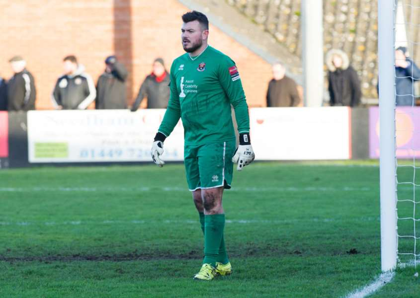 MOVING ON: Marcus Garnham has left AFC Sudbury