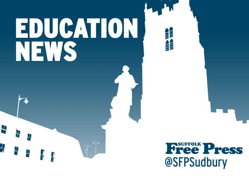 Latest education news from the Suffolk Free Press, suffolkfreepress.co.uk, @sfpsudbury on Twitter