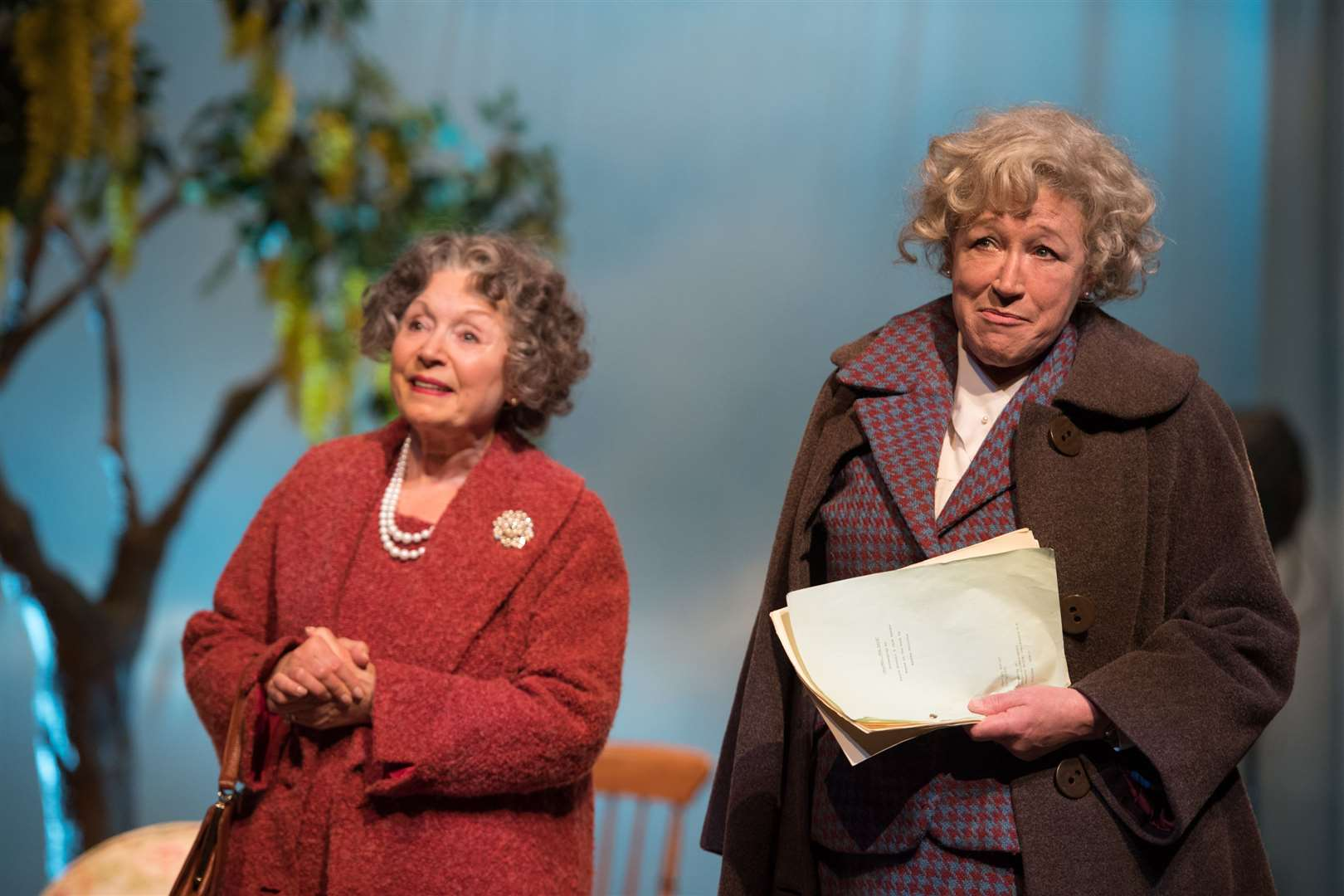 Murder, Margaret and Me - Lin Blakley and Sarah Parks. Picture: Craig Sugden