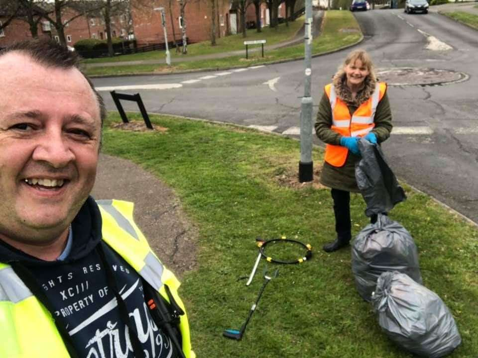 Joe Mason, creator of the Keep Haverhill Tidy Facebook group, which now has more than 800 members.