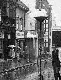 A street view in Bury 50 years ago