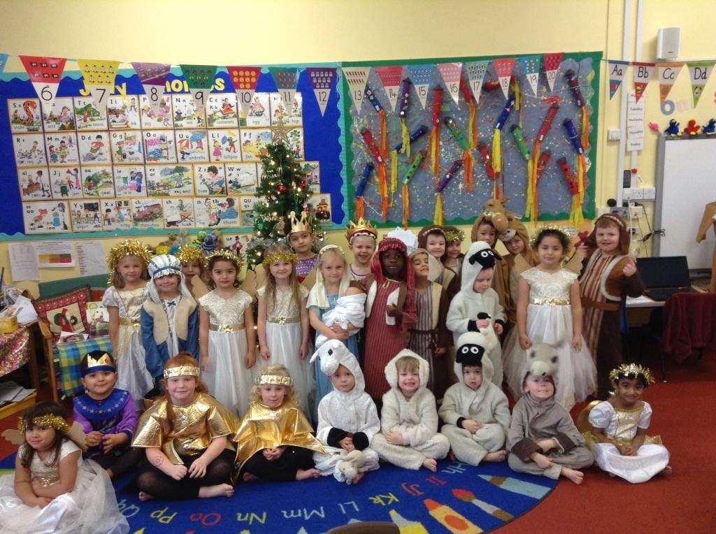 Tudor Primary School nativity production in December 2018. Submitted photo. (6286890)