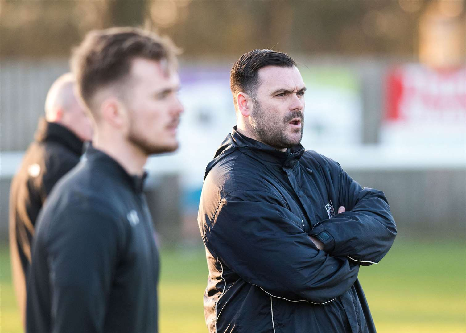 Christian Appleford has confirmed the departure of two players from Hadleigh United. Picture: Mark Westley