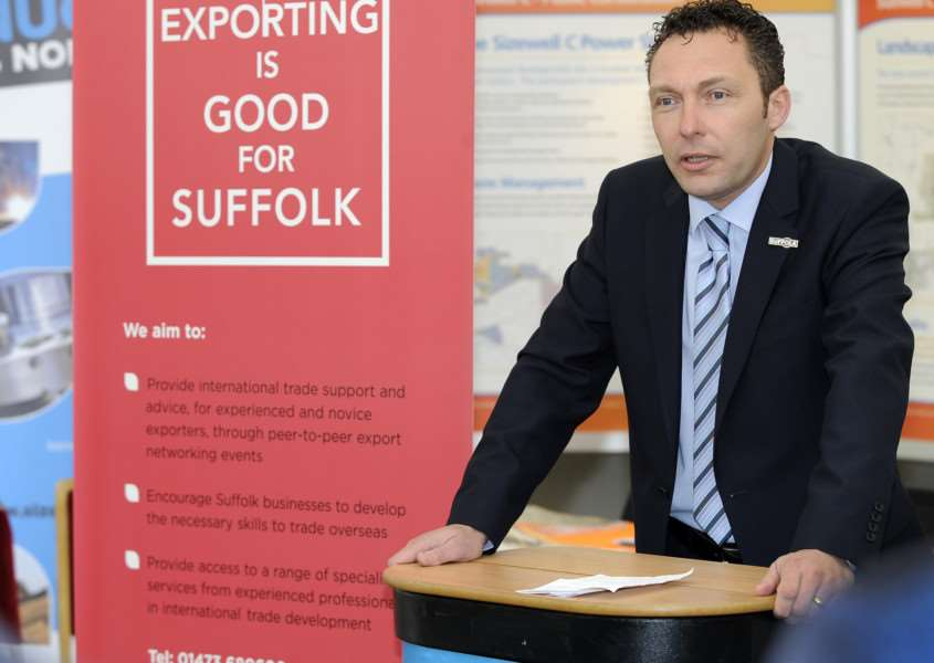 John Dugmore, chief executive of Suffolk Chamber of Commerce.