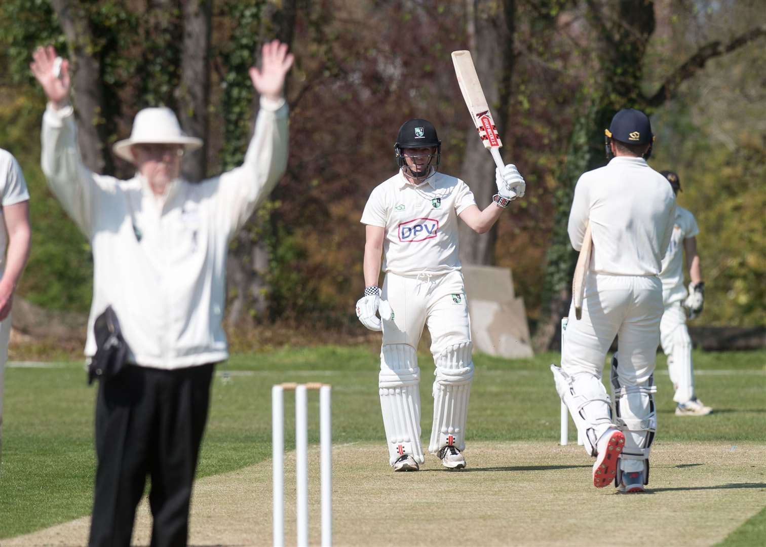 CRICKET: Burwell & Exning v Vauxhall Mallards Tim Catley scored 103 for B&E Picture by Mark Westley. (8955532)