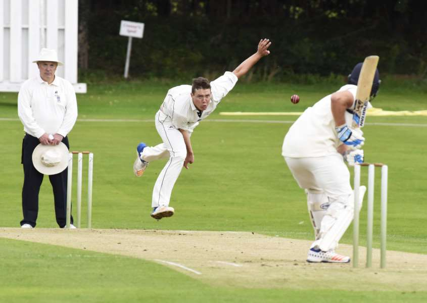 TOP FORM: Tyron Koen took four wickets and was the leading run scorer with 20 in Mildenhall's weekend defeat