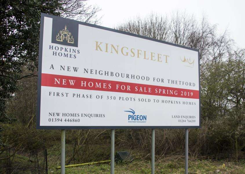 The Kingsfleet development will have 5,000 houses Picture Mark Westley