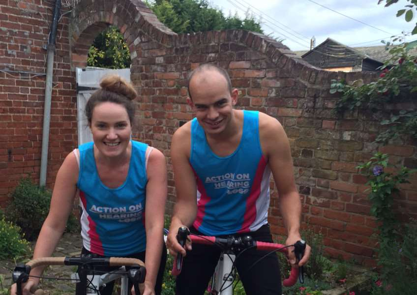 Sharon Osborne and Andy Taylor will face more than just physical challenges when the take on the Death Valley cycle ride in November. ANL-150916-104722001