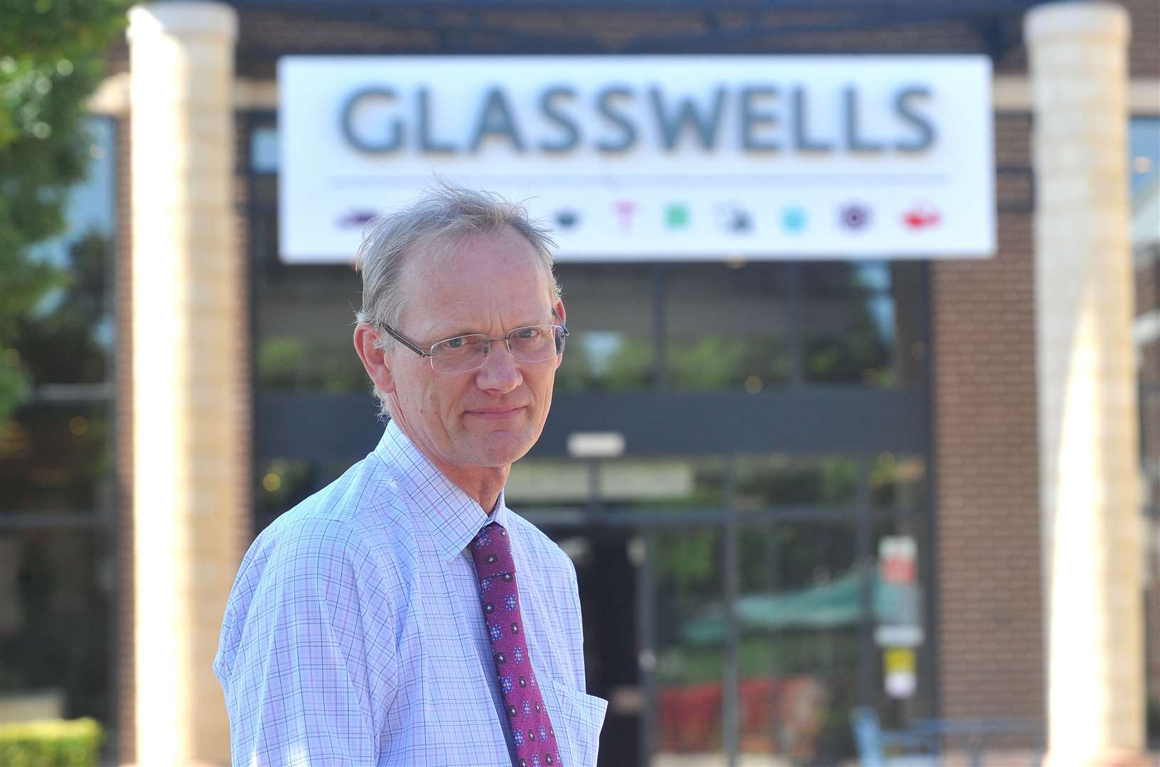 Paul Glasswell, managing director of Glasswells, which is celebrating its 75th anniversary