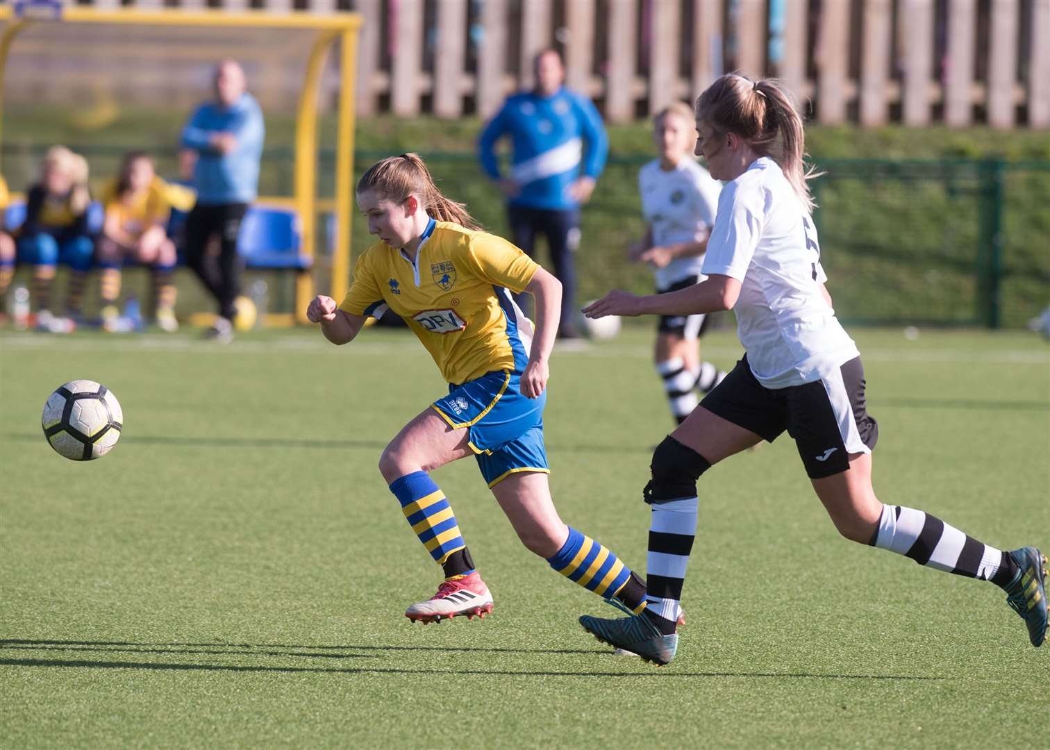 NEWMARKET: Football - Newmarket Ladies v King's Lynn Annabel CuthbertPicture Mark Westley. (20818183)