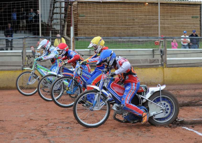 YOUNG GUNS: Three Mildenhall Fen Tiger Cubs will be racing at the British Youth Championships this weekend.