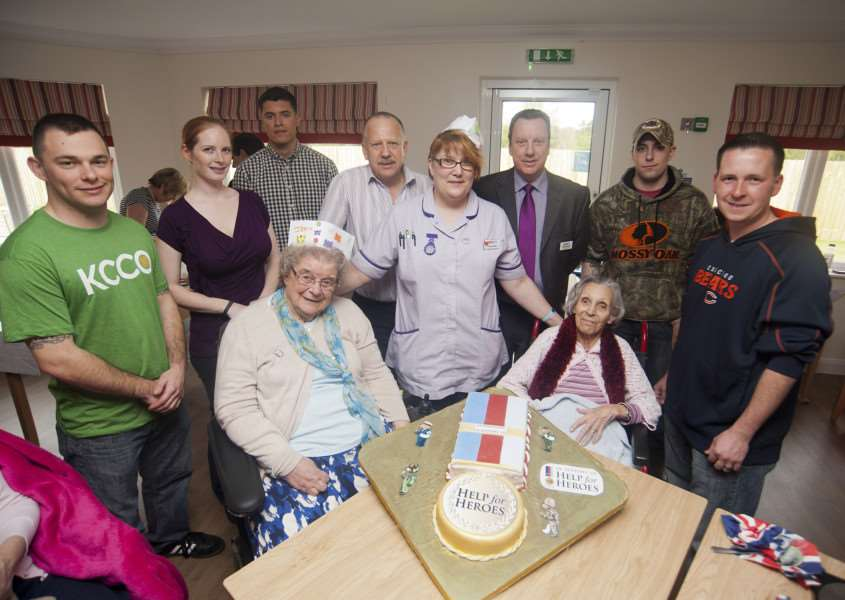 Bake off involving RAF Mildenhall at 'Mildenhall Lodge, St John's Close, Mildenhall ANL-150422-230820009
