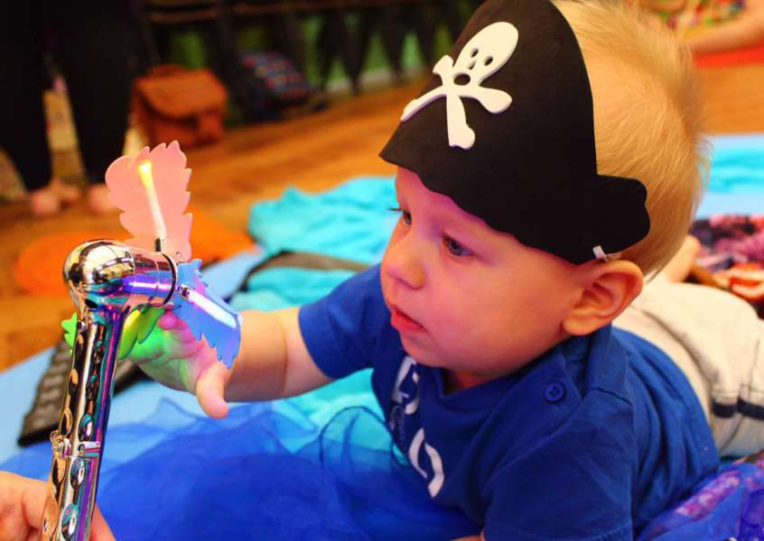 Yo Ho Ho Me Hearties. A youngster enjoys some fun at the Little Explorers sessions due to begin in Bury St Edmunds in September
