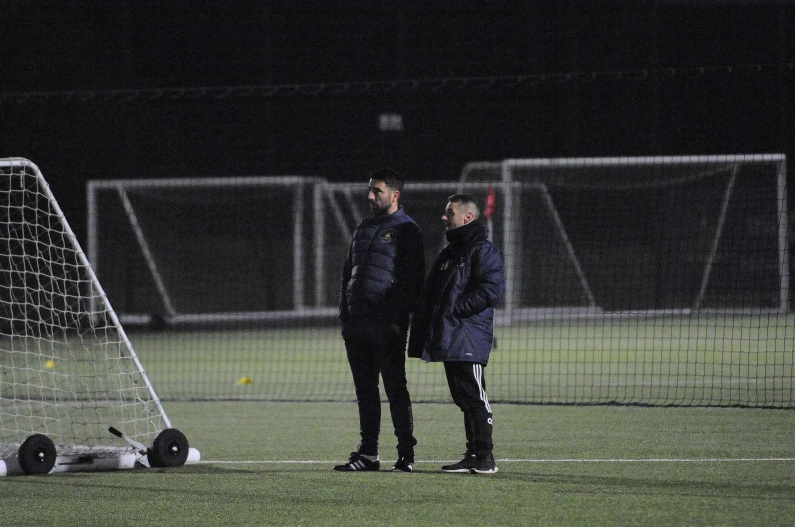 Kevin Horlocks First Training Session With Needham First Team. Picture: Ben Pooley (29010502)