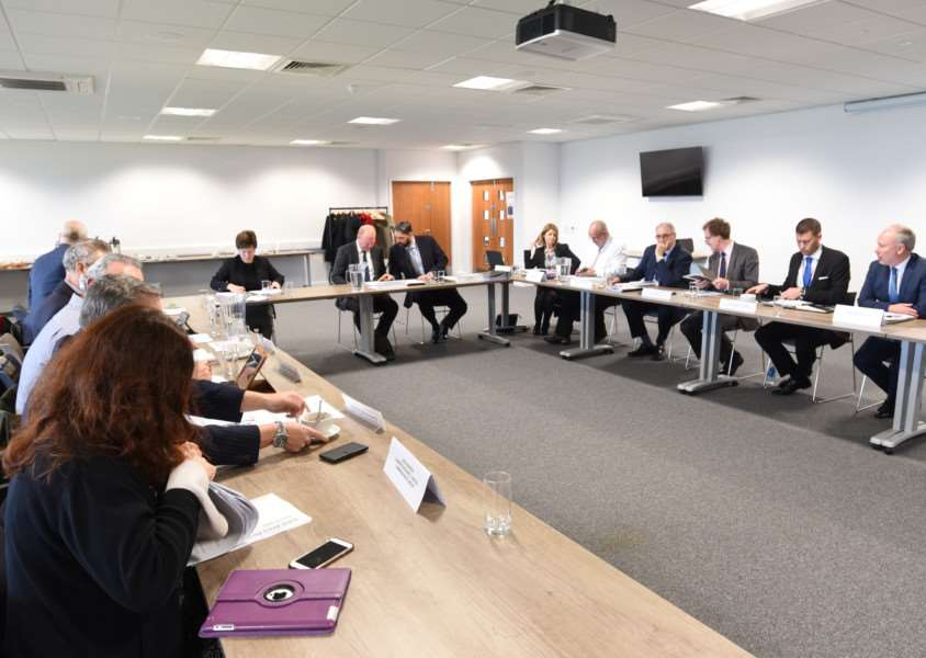 The meeting at the Future Business Centre EMN-161214-145822009