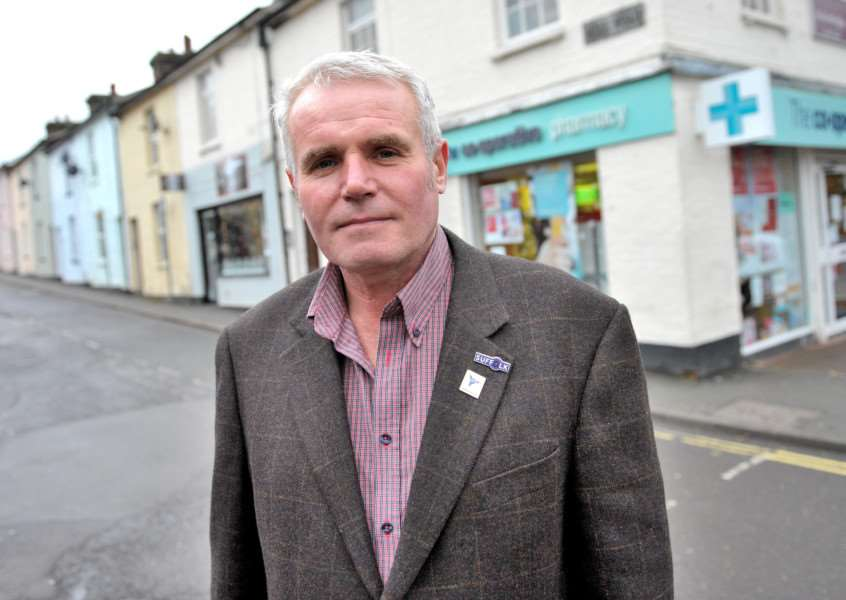 Cllr Tony Brown hopes to introduce new measures to curb speeding in Haverhill