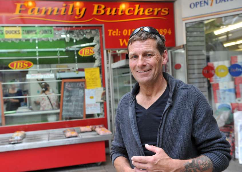 JBS Family Butchers is to reopen Pictured: John Sawyer ANL-150707-153737009