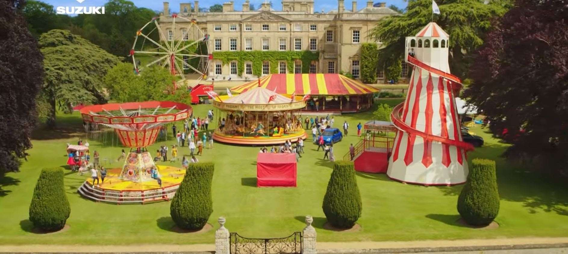 Part of the grounds at Culford School were transformed into a fun fair	Pictures by Suzuki.