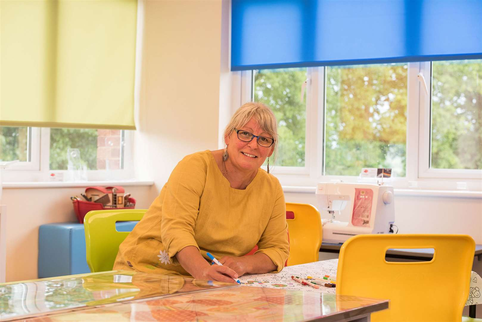 Snobby Eddy Crafts owner Debby Dyson inside her new, brighter and more spacious premises. Picture by Mark Westley.