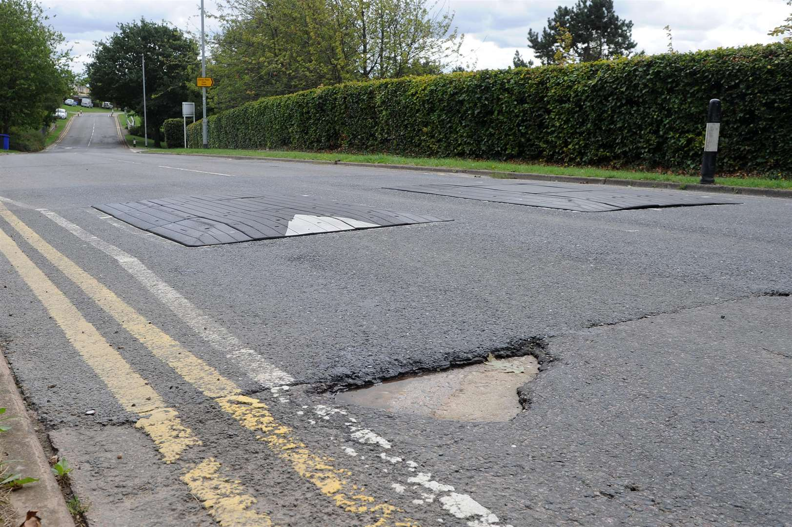 Millfields Way in Haverhill in a bad state...PICTURE: Mecha Morton... .. (3817191)