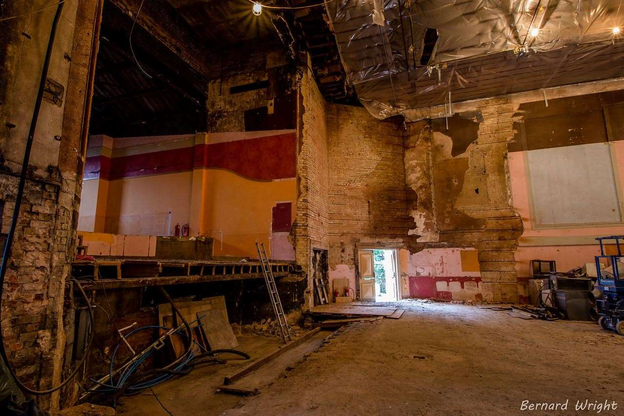 Works are ongoing to improve the Abbeygate Cinema offering