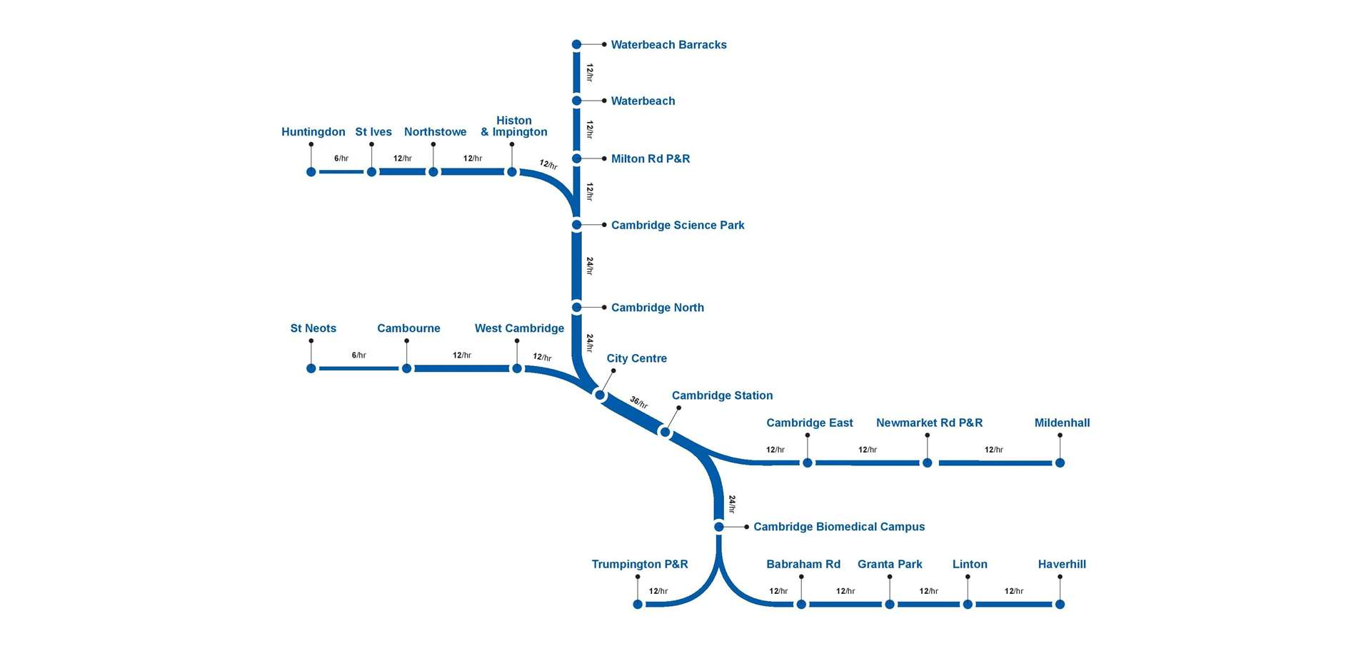 This asipirational map of the Cambridge Metro network includes Haverhill (5359853)