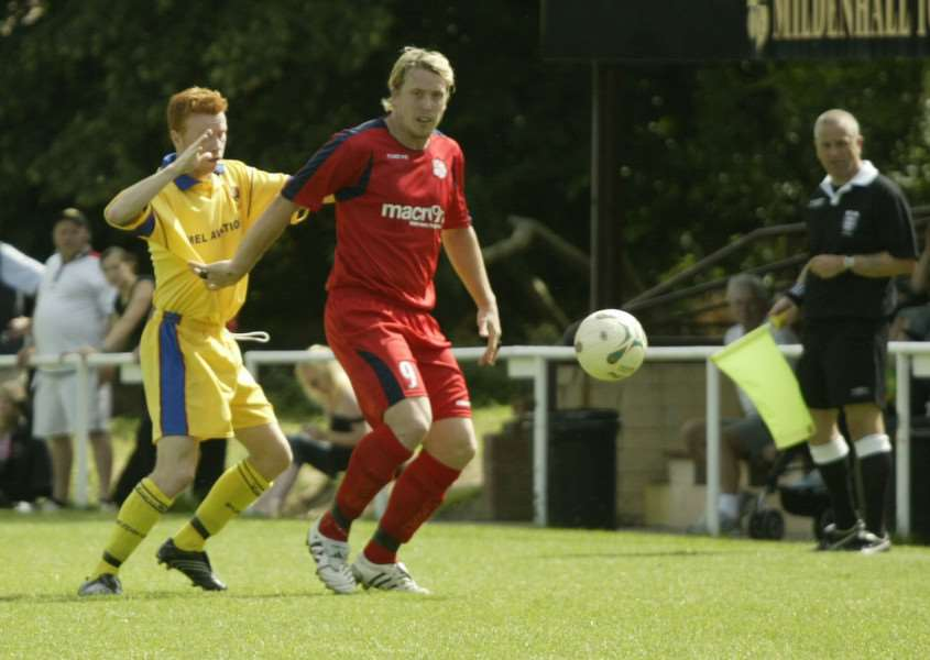 DERBY DATES: AFC Sudbury and Mildenhall (pictured against each other in 2007) will play each other on the August bank holiday and on Boxing Day