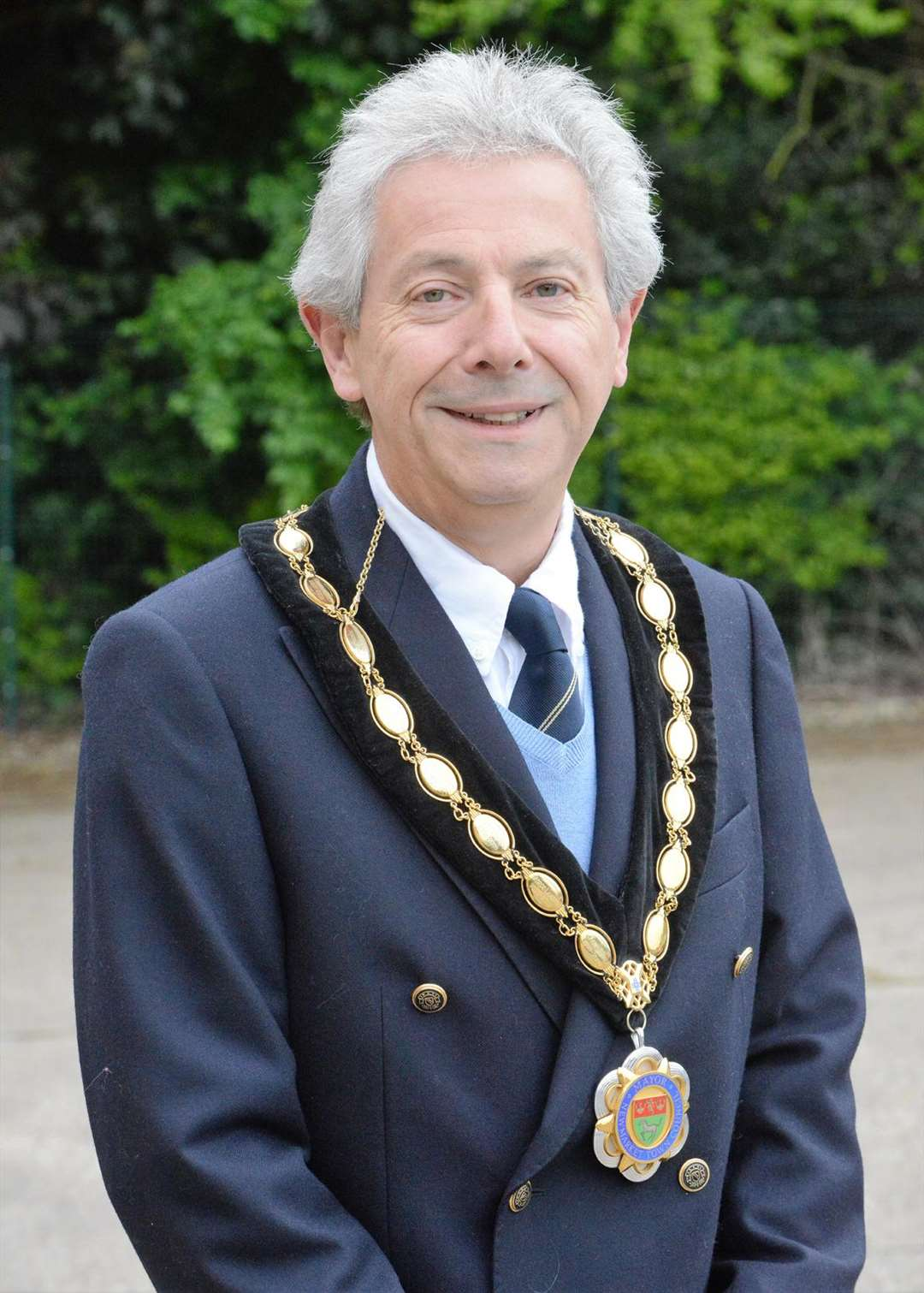 Newmarket mayor 2016/17 Andy Drummond. (4459267)