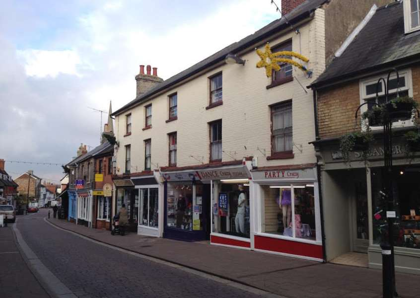 The investment property in St John's Street, Bury St Edmunds