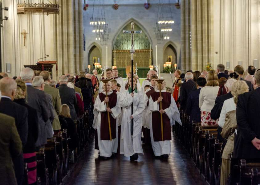 Suffolk's Harvest Festival at St Edmundsbury Cathedral