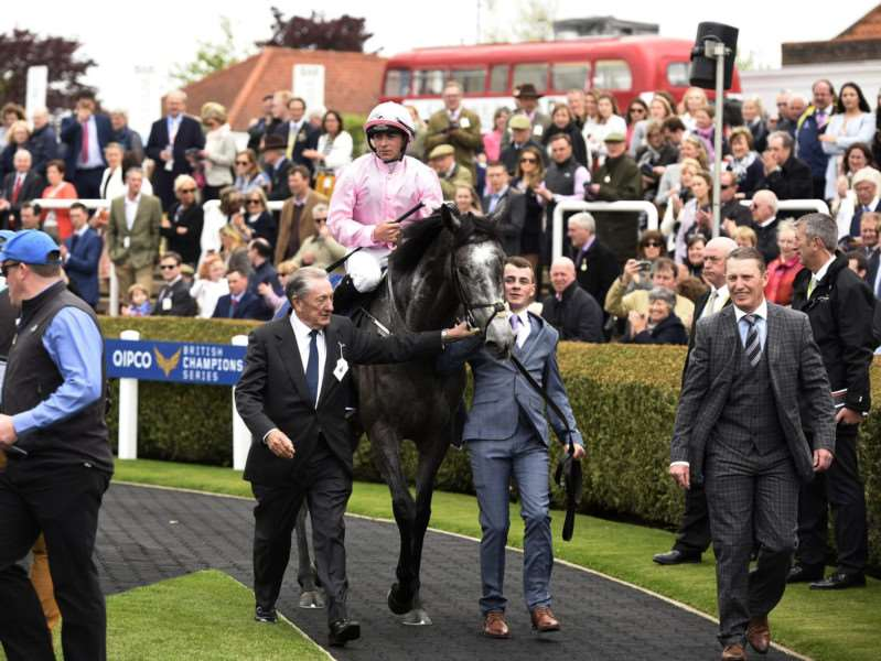 Winter - winner of The Qipco 1000 Guineas Stakes trained by Aidan O'Brien and ridden by Wayne Lordan