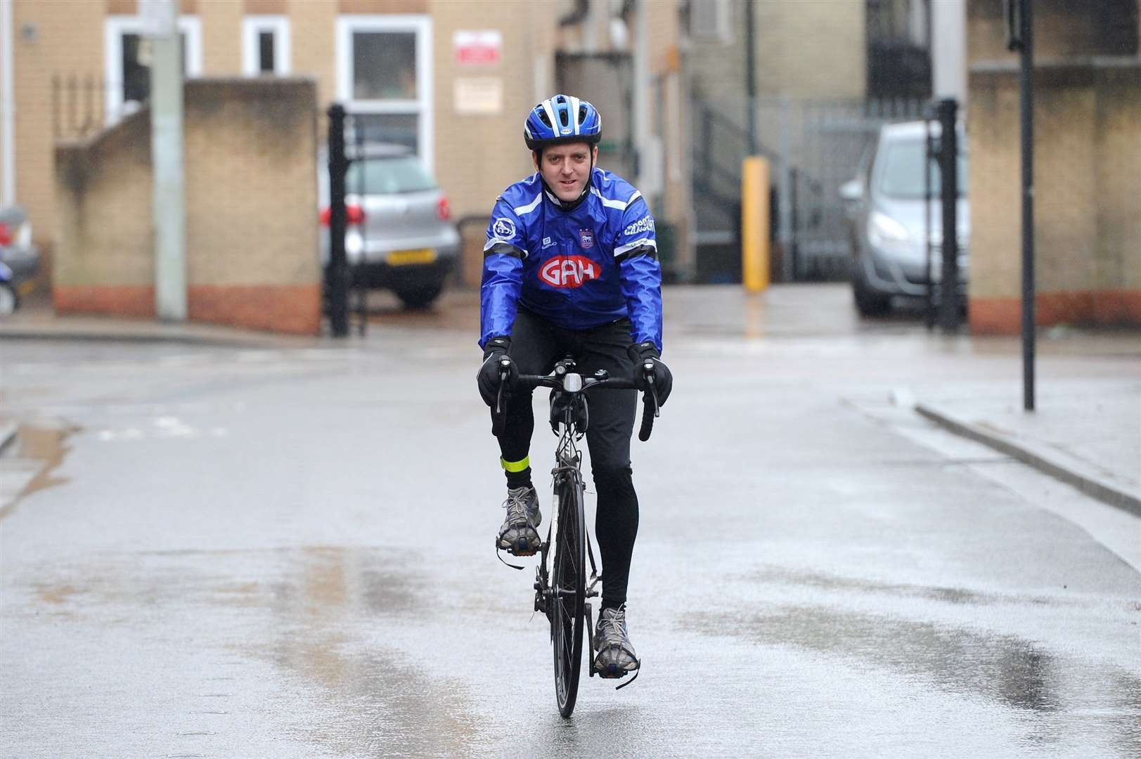 Sports Editor, Russell Claydon, is cycling 150 miles for two charities in May. (15248432)