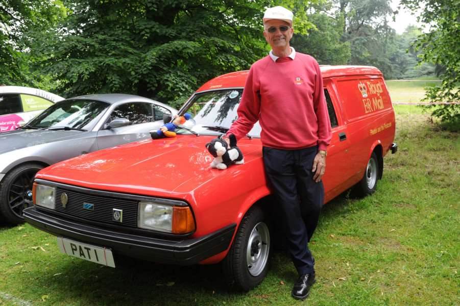 Cars on the Green''Pictured: Jim Cawte with his 1983 Morris Ital original Royal Mail van. ANL-160620-093828009